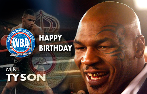 Happy birthday to Mike Tyson
