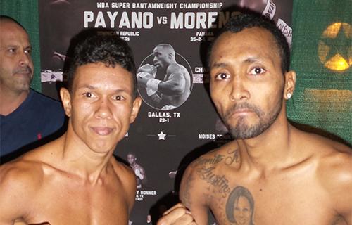 """Anselmo """"Chemito"""" Moreno – Juan Carlos Payano Weigh-in"""
