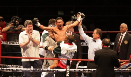 Payano dethrones longtime bantamweight champ Moreno
