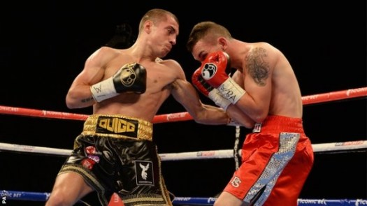 Scott Quigg had no problem knocking out Jamoye in Manchester