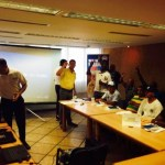Held the officials seminar in Caracas