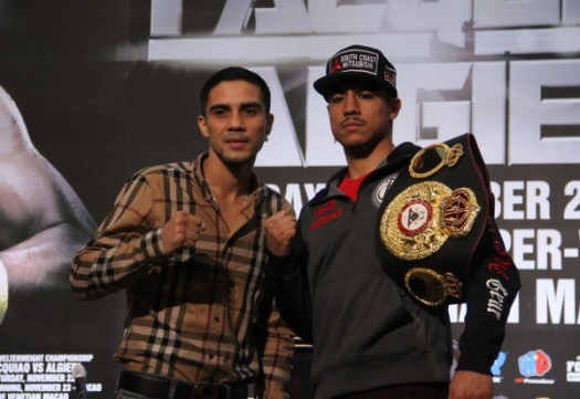 Jessie Vargas does not intend to let go of the title to Antonio DeMarco