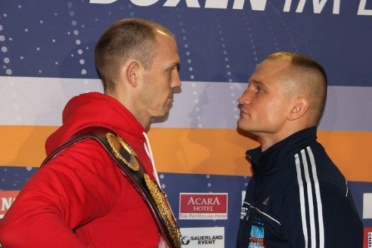 Braehmer and Glazewski exchange words ahead of WBA world title showdown
