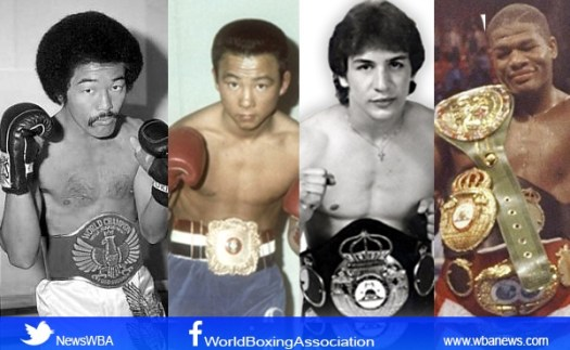 The four WBA champions among the immortals of the  IBHOF
