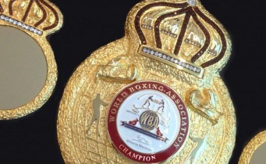 WBA championship belt