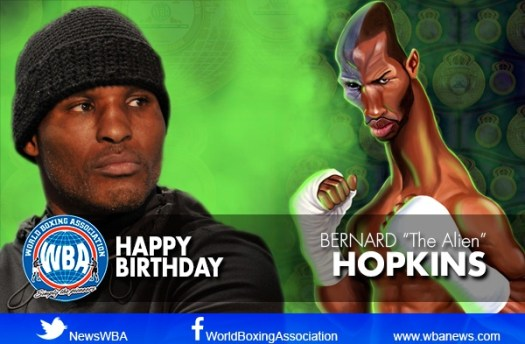 Congratulations Bernard Hopkins