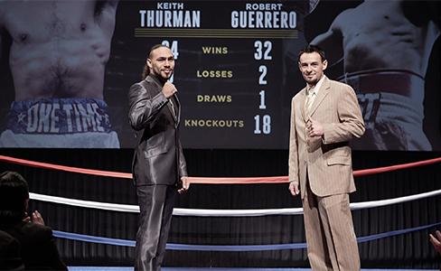 Keith Thurman vs. Robert Guerrero at Premier Boxing Champion on Saturday 7