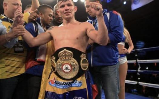 Oscar Escandon ready for the first defense of his interim 122 title