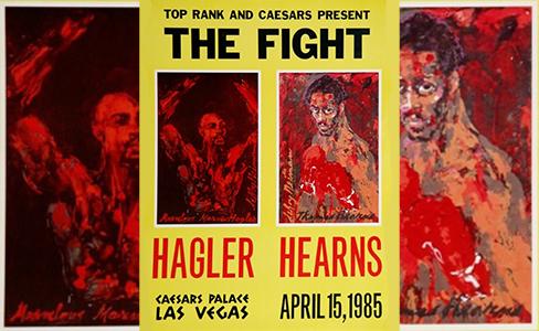 Marvelous Marvin Hagler versus Thomas Hearns 30 year anniversary