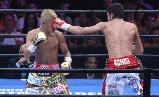 Photo Gallery: Jamie McDonnell retain by UD against Tomoki Kameda