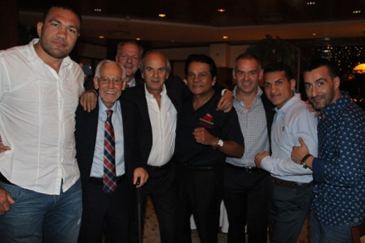 Gala dinner meeting of the WBA directory in Sofia, Bulgaria