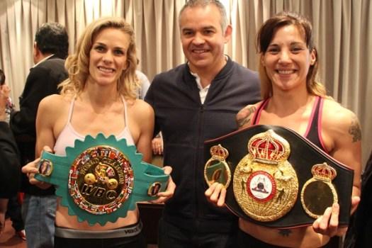 Campeonas Matthysse y Mrdjenovich en peso en Buenos Aires