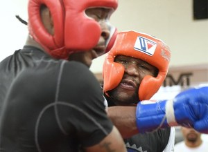 Mayweather workout photos