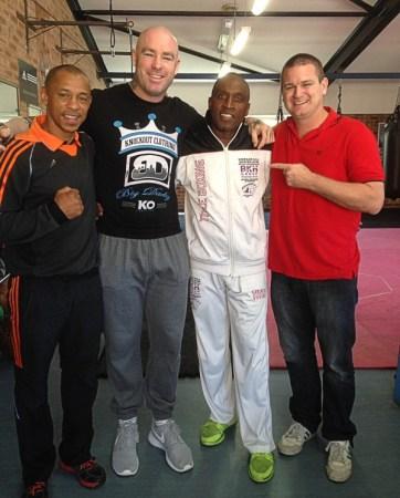 Nigel Benn to Train Lucas Browne