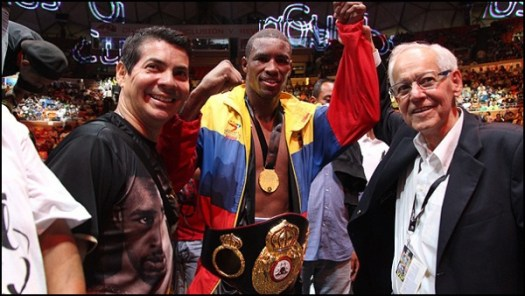 Alfonso Blanco Named Interim WBA World Middleweight Champ