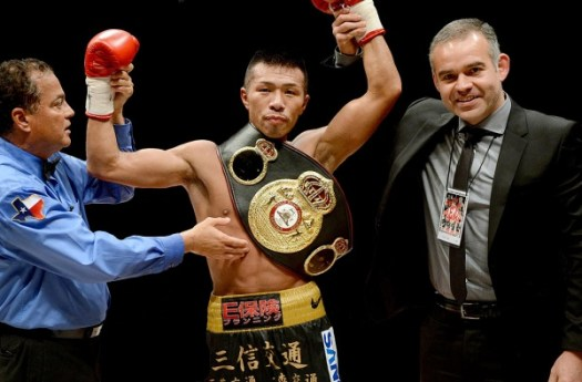 Uchiyama Defends Title Against Flores