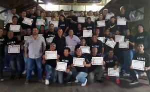 Asociación Civil de Técnicos de Boxeo en Córdoba graduó a 53 entrenadores