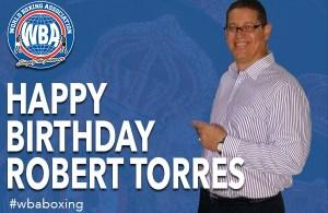 Feliz cumpleaños José Roberto Torres