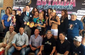 """It has been a great honor for the WBA to be part of such a historic event."" (Photo: Jupiter Fight Boxing)"