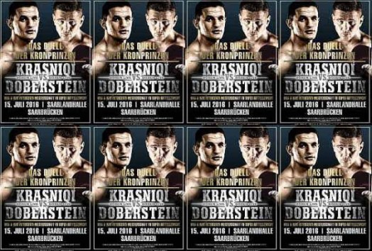 Doberstein to Defend WBA Super Middleweight Title Against Krasniqi