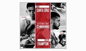 Santa Cruz vs. Frampton: By the Numbers