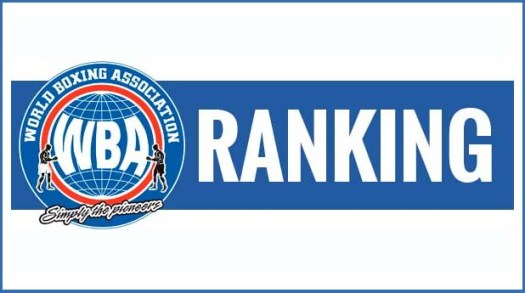 On Thursday, September 15, the WBA Ratings Committee released its August rankings.