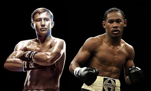 Golovkin/Jacobs Hold Talks