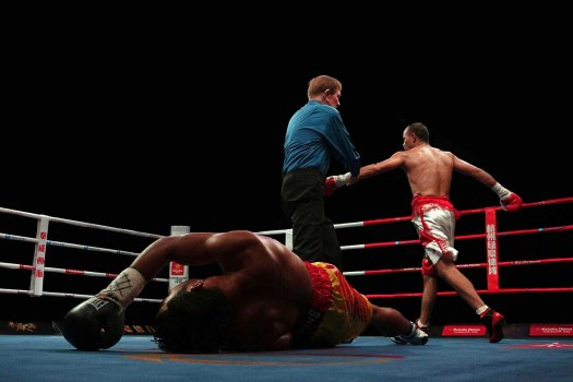 The scores were 20-18 and 19-19 twice at the time of the knockout. (Photo: Courtesy)