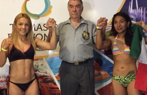 Tuti Bopp y Pantera Torres cumplieron con el peso en Termas de Río Hondo