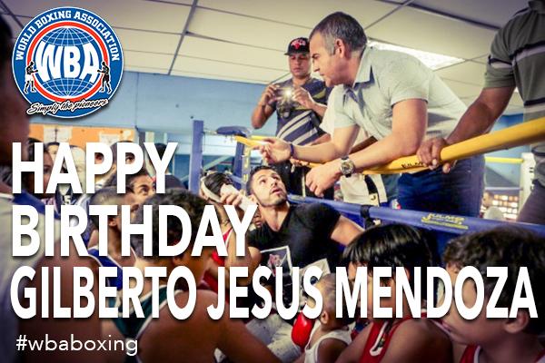 Happy Birthday President, Gilberto Jesús Mendoza