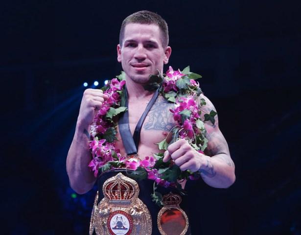 Jason Sosa WBA Super Featherweight. Photo Sky Sports