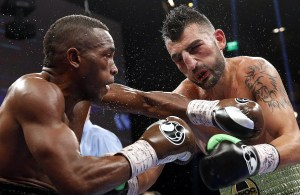 Lara defeated Vanes Martirosyan fought this May. (Photo: John Locher/AP)