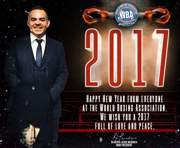WBA New Year's Message - Gilberto Jesús Mendoza