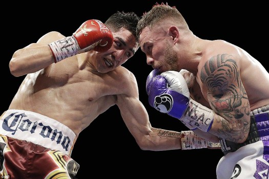 Santa Cruz Outpoints Frampton to Regain WBA Title