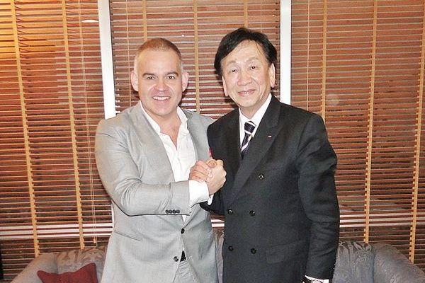 Gilberto Jesús Mendoza presidente AMB y Ching-Kuo Wu presidente AIBA.