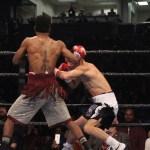 Rau'Shee Warren vs Zhanat Zhakiyanov. Photo Sumio Yamada