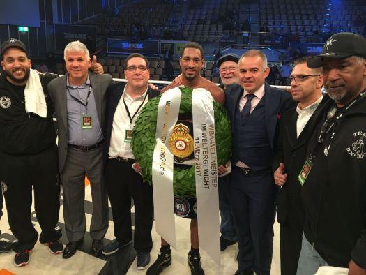 Demetrius Andrade new WBA super welterweight champion