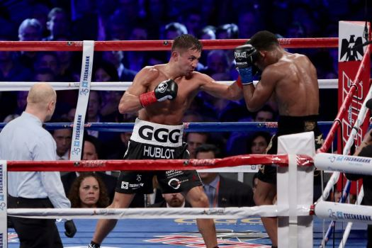 Golovkin retained the WBA Middleweight belt