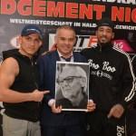 Jack Culcay vs Demetrius Andrade. WBA Super Welterweight Champiobship. Heiko Schmitt / Team Sauerland