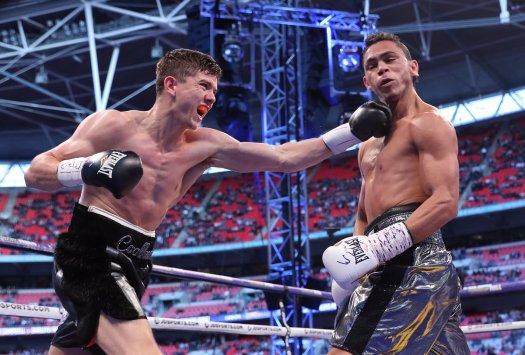 Campbell wins WBA elimination fight