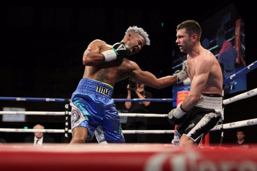 Barthelemy and Easter will fight for the vacant lightweight belt of the WBA