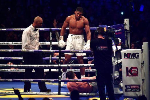 Joshua Vs Klitschko a battle to remember
