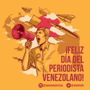 Congratulations to all journalists in Venezuela
