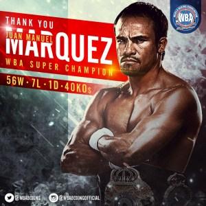 Juan Manuel Marquez: Another great that retires