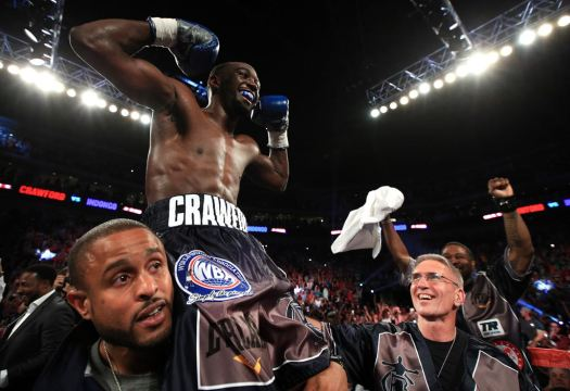 Crawford is the new WBA Champion and makes history