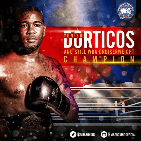 Dorticos retains his WBA Cruiserweight Belt