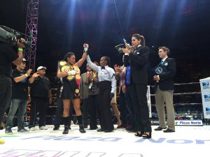 Gabriels defends against Dwyer in Managua