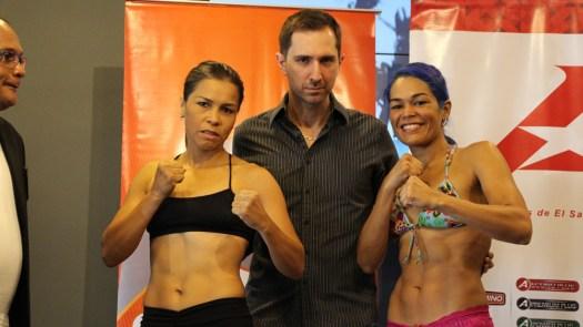 Sánchez y Palmera en peso para el KO a las Drogas de El Salvador