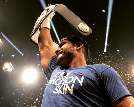 Manuel Charr, new WBA Heavyweight champion