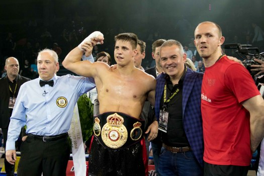 Tyron Zeuge will Defend Against Rocky Fielding